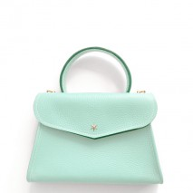 'Chantilly Petit' Sac à main Cuir Nappa Opaline & Or