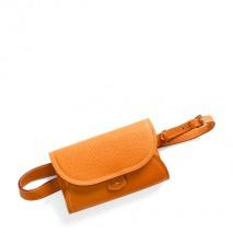 'Vingt Sept' Sac ceinture Cuir Nappa Orange & Or