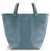 'Châtelet Grand' Nappa Leather Tote bag Glacier & Silver Grand