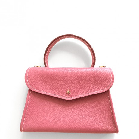 'Chantilly Petit' Sac à main Cuir Nappa Rose & Or