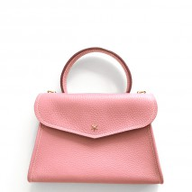 'Chantilly Petit' Sac à main Cuir Nappa Rose Poudré & Or