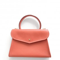 'Chantilly Petit' Nappa Leather handbag Watermelon & Gold