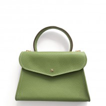 'Chantilly Petit' Nappa Leather handbag Asperge & Gold
