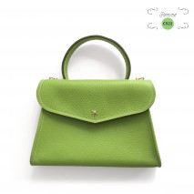 'Chantilly Petit' Sac à main Cuir Nappa Pomme & Or