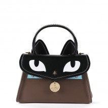 'Chantilly Le chat Premier' Sac à main Cuir Grizzli