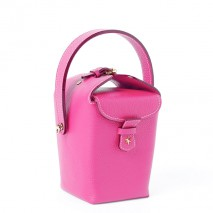 'Tuilerie' Nappa leather handbag Pink & Gold