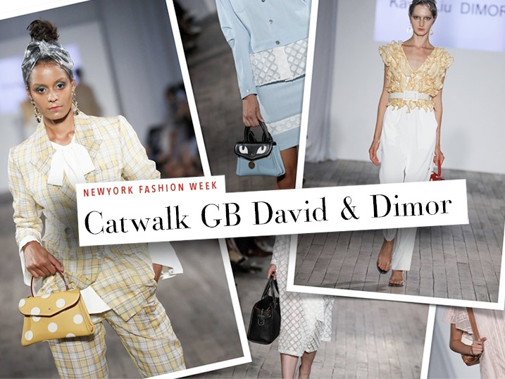 New York Fashion Week SS2019, GB David defile avec Dimor